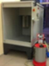 filtreli toz boya kabini