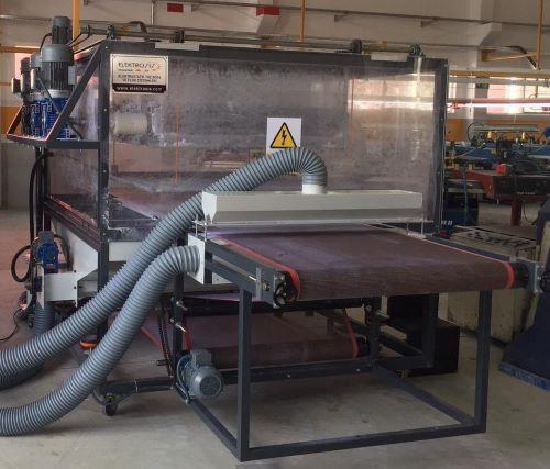 kadife kaplama makinası