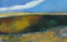The-South-Country-is-Parched%253B-8X10%253B-Acrylic-mixed-media-on-paper-(matted)%253B-%2524165_edit