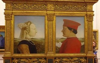 """""""Doppio ritratto dei duchi di Urbino"""" di Piero della Francesca"""