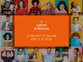 Nasce LETTORI SI DIVENTA, il progetto scuola di Salani
