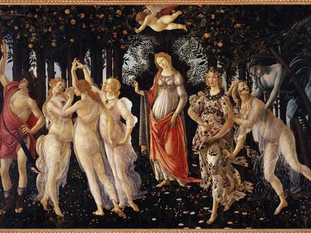 """""""Primavera"""" di Sandro Botticelli"""