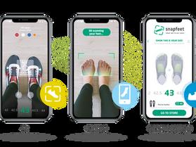Calzature e tecnologia: Snapfeet va in crowdfunding per il lancio mondiale dell'App