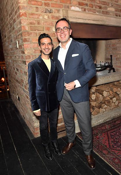 Da sinistra: Imran Amed e Achim Berg. Foto Getty