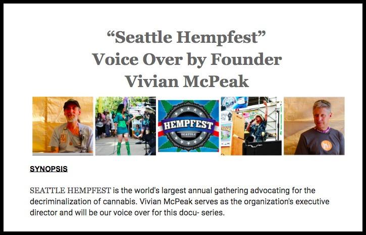 Seattle Hempfest docu-series