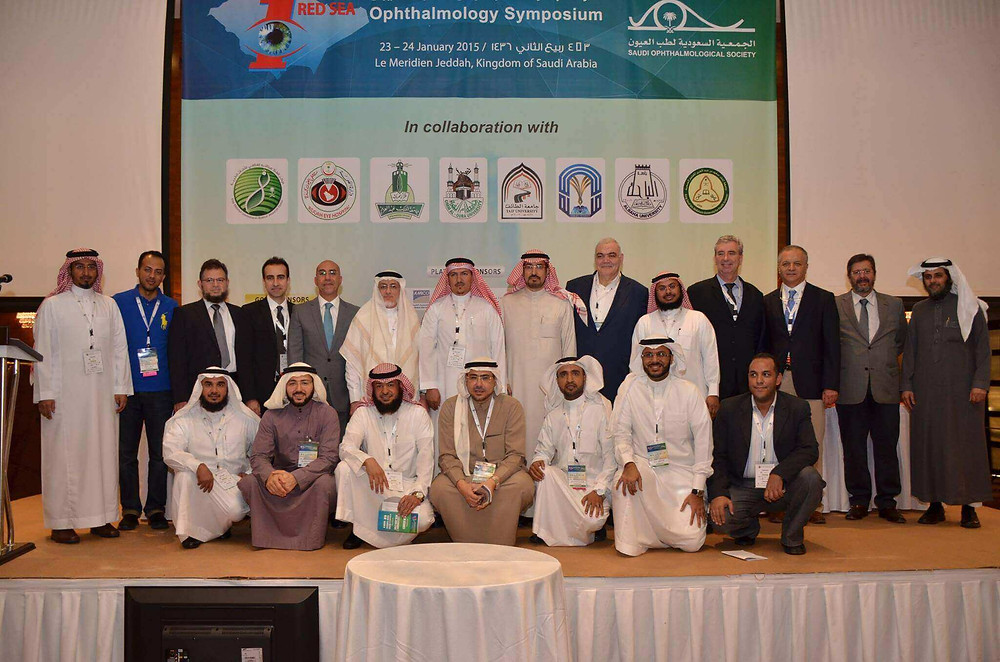 Dr. Mazen Sinjab is one of the pillars of the 1st Red Sea ophthalmology Symposium that was held in Jeddah.