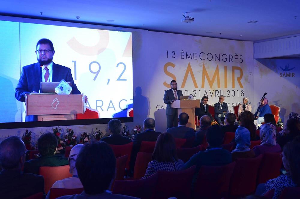 بدعوة رسمية من مؤتمر (لاسامير)، الدكتور مازن سنجاب يحاضر في طنجة في مؤتمر لاسامير المتخصص في الجراحة الإنكسارية وزرع العدسات، ويقدم العديد من المشاركات العلمية