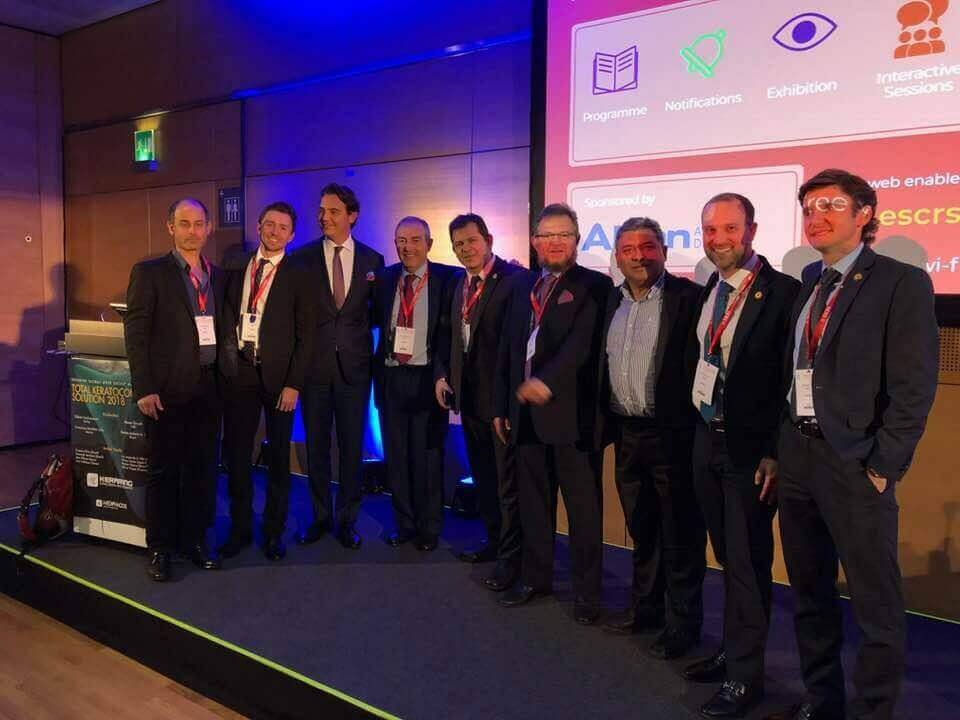 Dr. Mazen Sinjab lectures in the conference of the European Society of Cataract and Refractive Surgery (ESCRS) in Vienna.