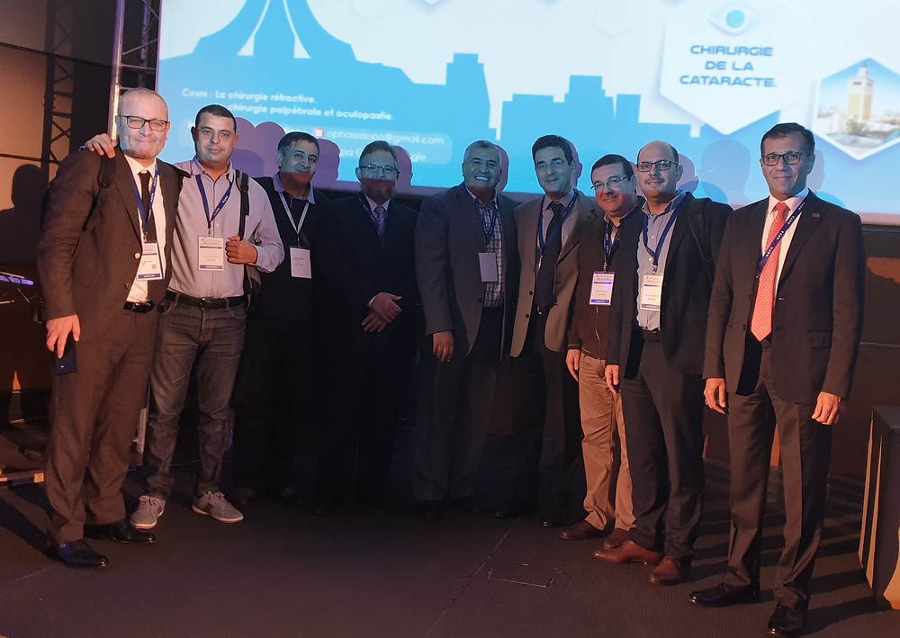 As a guest speaker, Dr. Mazen Sinjab was officially invited by AOPA - Algerie Conference. Dr. Mazen Sinjab presented a number of scientific papers and instructional courses during the conference.