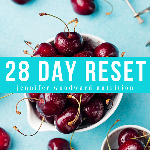 28 Day Reset: Harness Your Hormones to Lose Weight, Sleep Better + Feel