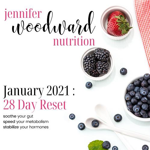 Nourished Program - 28 Day Reset