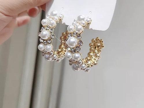 Pearl Stud Fashion Earrings