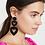 Thumbnail: Black Hearts Earrings