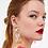 Thumbnail: Clear Gems Earrings