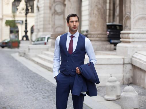 Mellény szerepe az üzleti öltönyök világában!