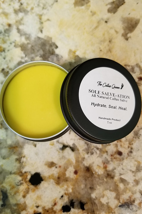 Sole Salve-ation Callus Salve - 2oz Tin Can