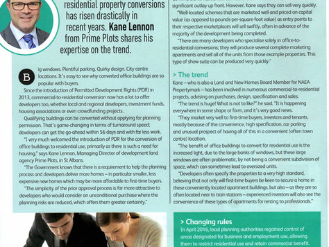 Commercial to Residential (PDR) - Kane Lennon talks to Property Professional Magazine - Sept/Oct 201