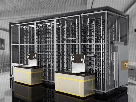 Why do banks want to develop self-service safe deposit box business?