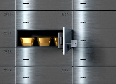 Why is a safe deposit box a good way to store valuables?