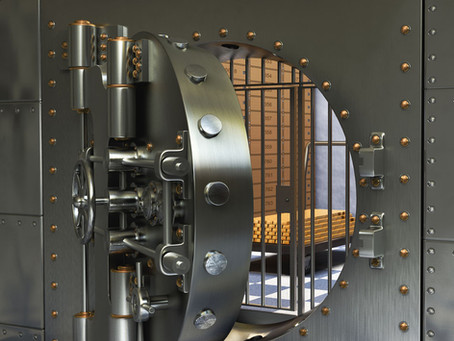 What is a vault door? What is a bank vault?