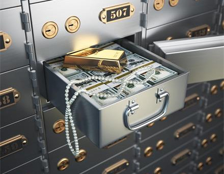 What is safe deposit box?