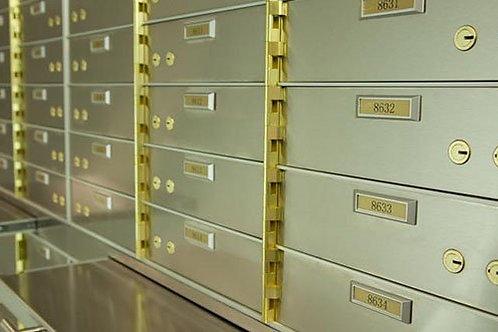 Bank/Hotels Safe Deposit Box Supplier