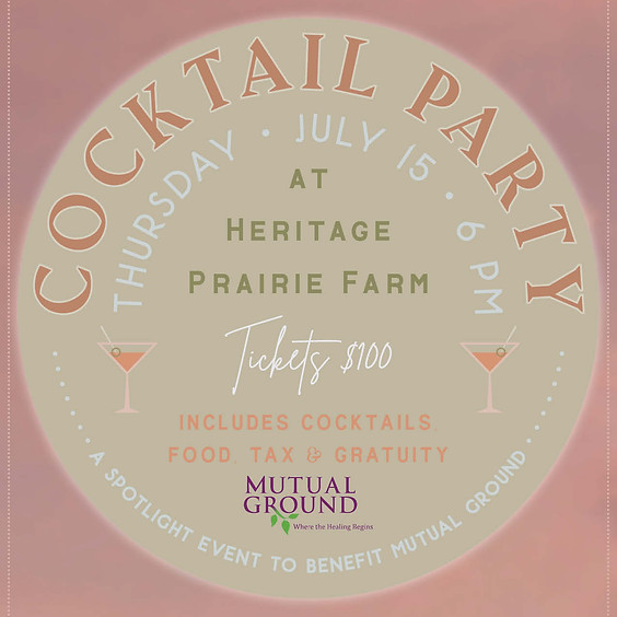 Cocktail Party Farm Dinner