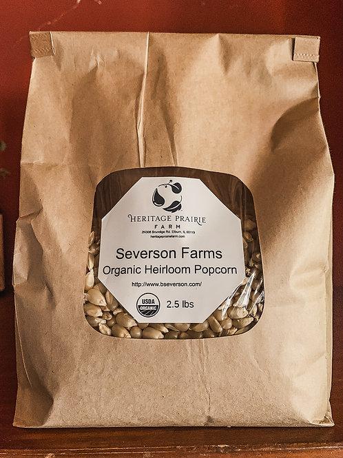 Severson Farms Organic Heirloom Popcorn 2.5 lb