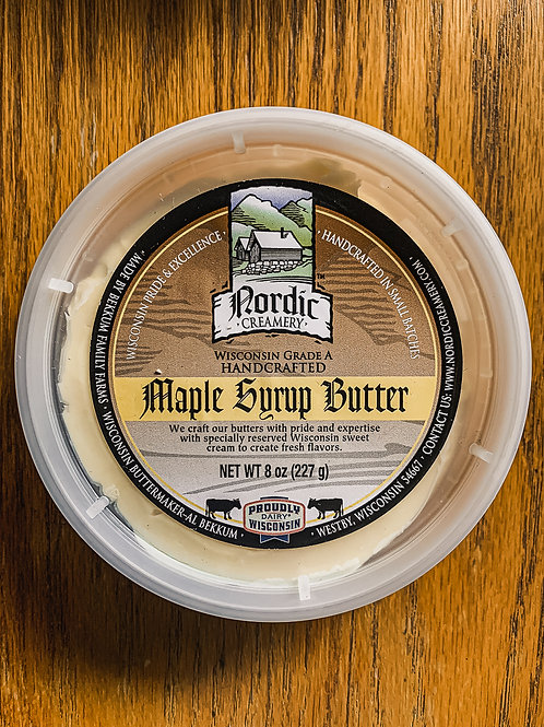 Nordic Maple Syrup Butter