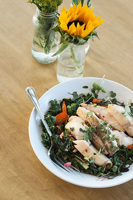 microgreens and organic produce for restaurants