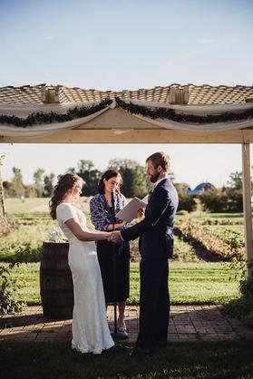 Fall Outdoor Wedding