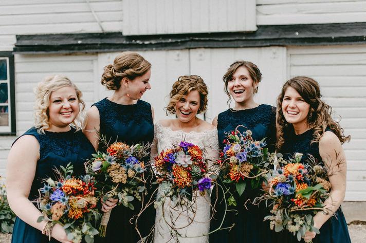 Boho woodsy weddings near Chicago