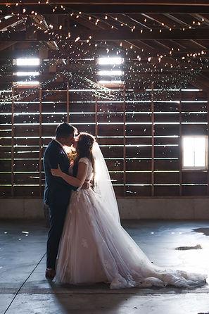 wedding portraits at a barn wedding venue near chicago