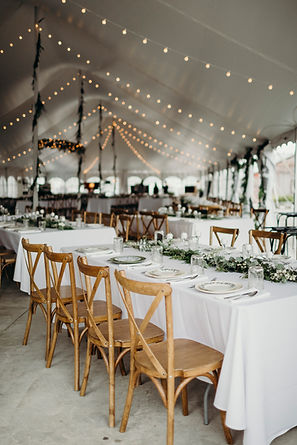 All-Inclusive Wedding Venue Tent Layout
