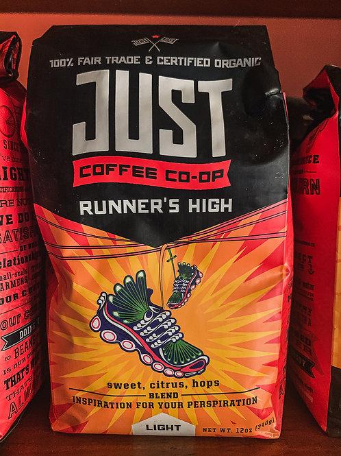 JUST Coffee: Runner's High