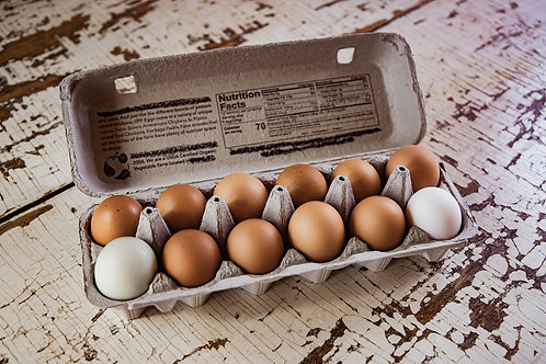 Eggs, One Dozen