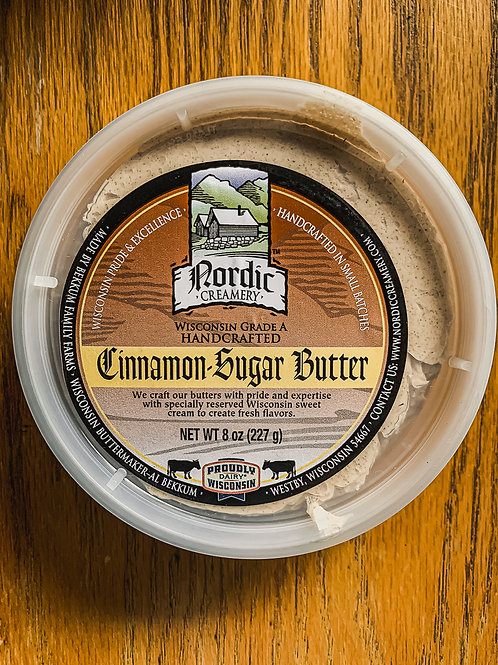 Nordic Cinnamon Sugar Butter
