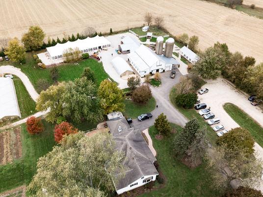 Grounds of Heritage Prairie Farm in Elburn, Illinois