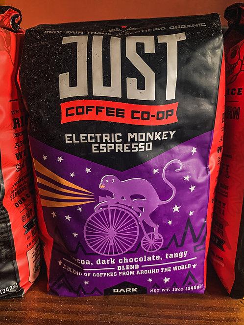 JUST Coffee: Electric Monkey Espresso