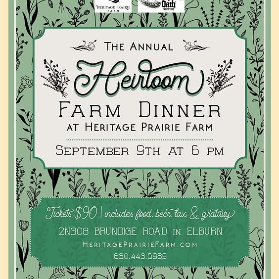 Heirloom Farm Dinner