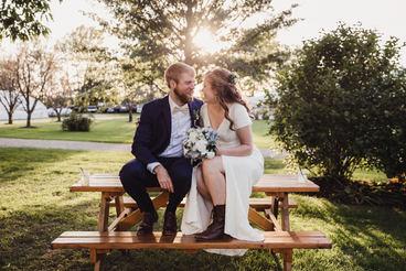 Summer Weddings at Heritage Prairie Farm