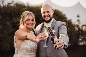 Fox Valley Wedding Venue cocktail hour