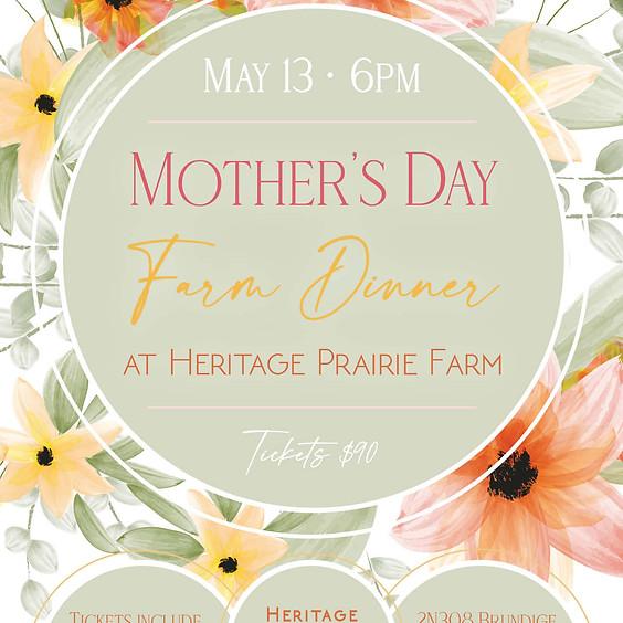 Mother's Day Farm Dinner