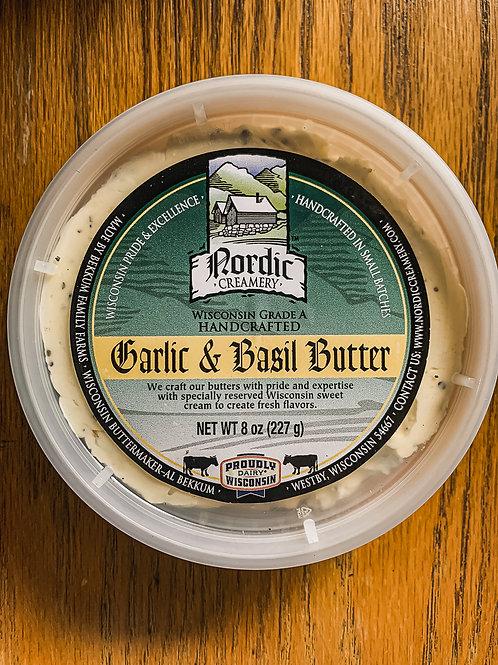 Nordic Garlic & Basil Butter