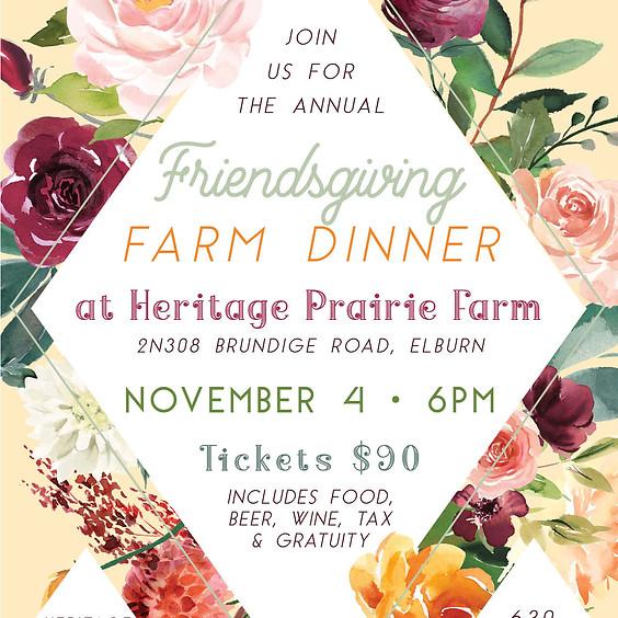 Friendsgiving Farm Dinner