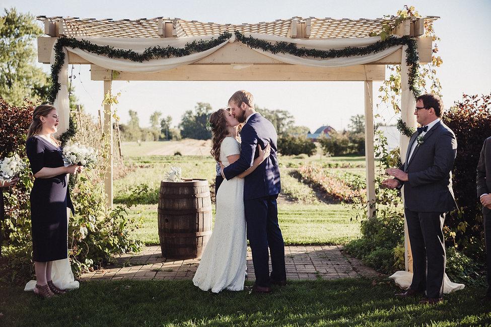 Outdoor Farm Wedding Venue