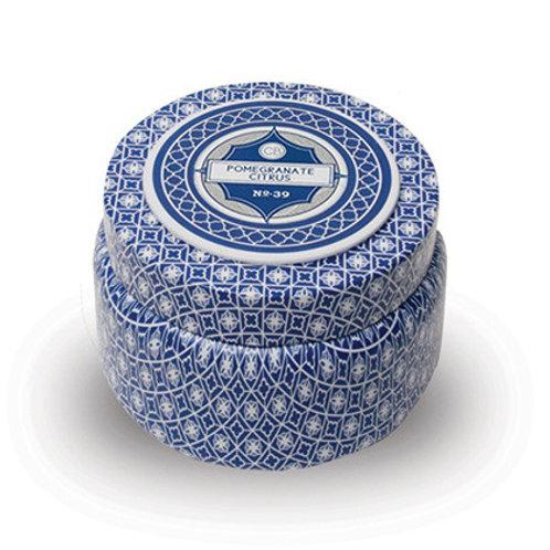 Capri Blue travel tin - Pomegranate Citrus