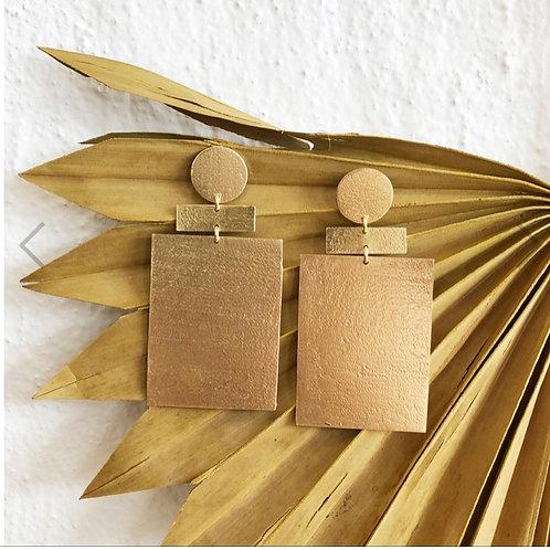 ZevEarrings Gold