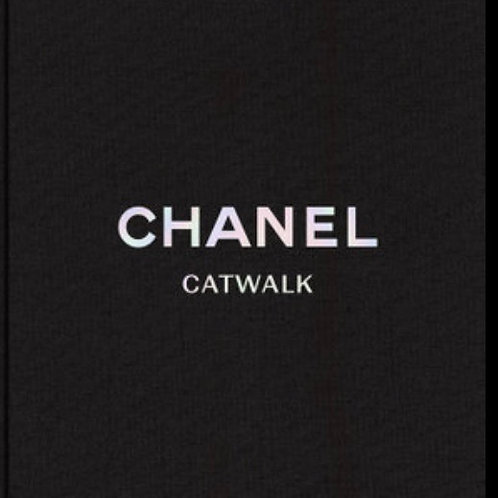 Chanel Catwalk Book Linen Cover