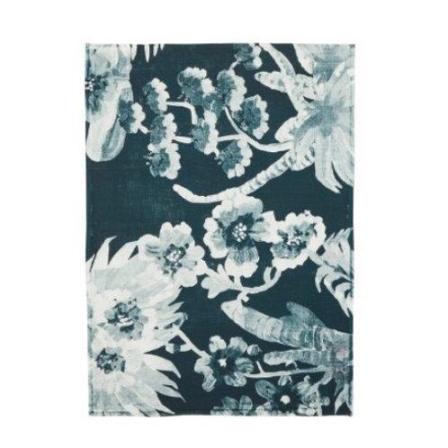 Orchid Indigo Tea Towel - Bonnie & Neil